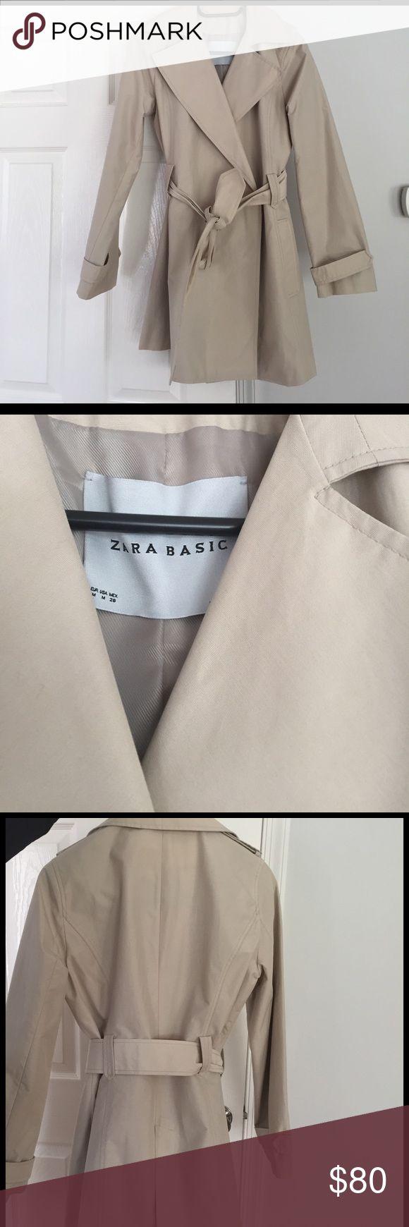 ZARA RAIN JACKET Very cute Zara Rain Jacket!!!! Gently Used!!! Zara Jackets & Coats