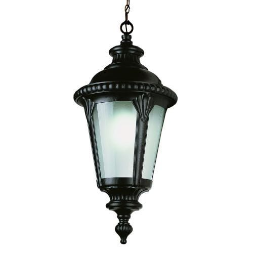 Trans Globe Lighting 5049 Single Light Outdoor Energy Star Pendant (Black Copper)
