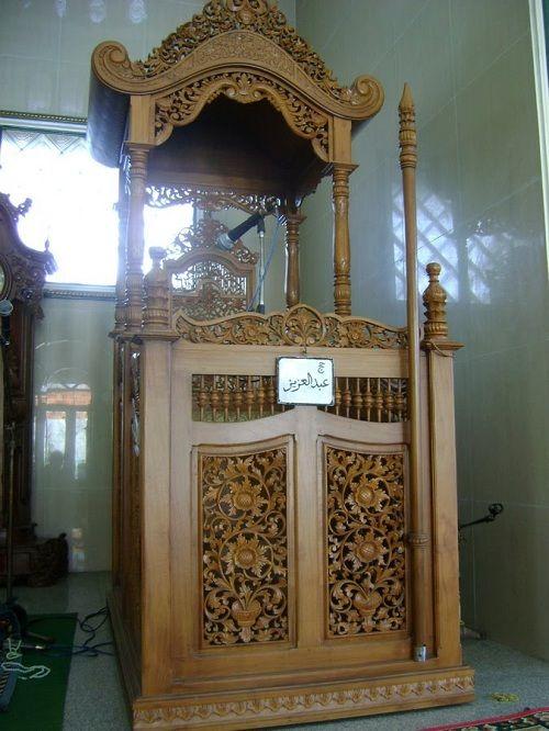 Mimbar Masjid Kereta