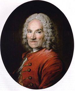 Louis Tocqué, portrait de Jean-Louis Lemoyne, collection privée. - 6) LOUIS TOCQUE: Agréé à l'Académie en 1731, sur présentation de la Famille de Peirenc de Moras, il fut reçu au commencement de 1734, avec des portraits en 3/4 de Louis Galloche et de Jean Baptiste Lemoyne (aujourd'hui au Louvre). Il eut à peindre, en 1739, le portrait du Grand Dauphin, l'an d'après celui de la reine Marie Leczinska.