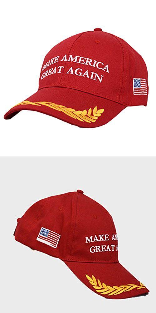 3081e33afed Dutch Brook Make America Great Again Donald Trump 2016 Campaign Cap Hat  (Red)
