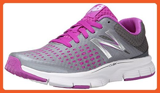 New Balance Women's W775V1 Neutral Running Shoe, Silver/Pink, 7 D US - Athletic shoes for women (*Amazon Partner-Link)
