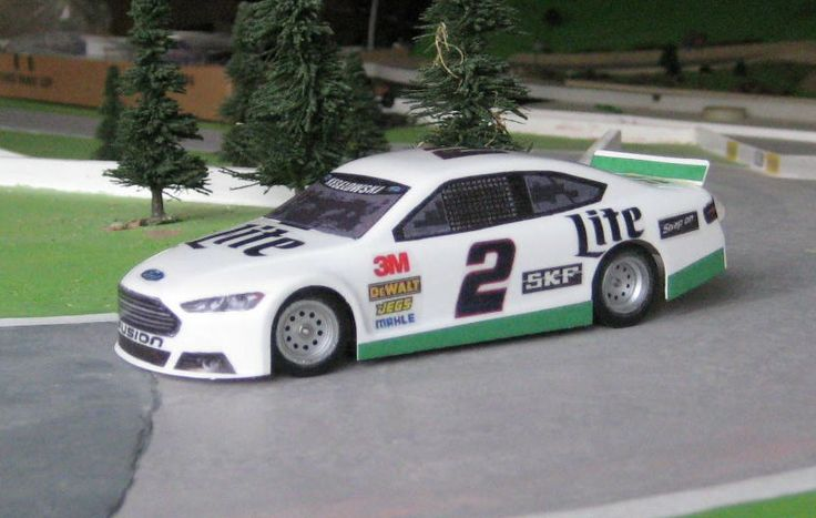 Magracing's new Ford Fusion Nascar Stock car.