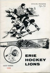 Erie Lions Game Program