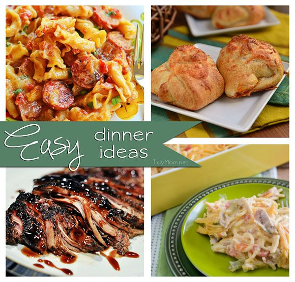 Easy And Fast Dinner Ideas: Quick And Easy Dinner Recipes