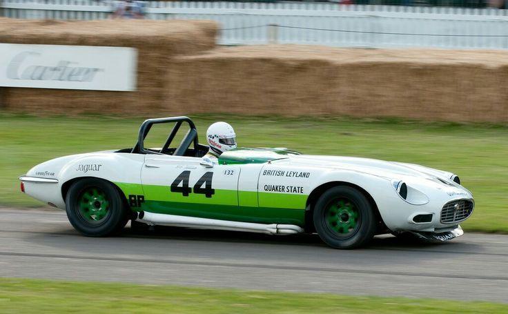 Bob Tullius' Quaker State Group 44 V12 Racing Jaguar E-Typ… | Flickr