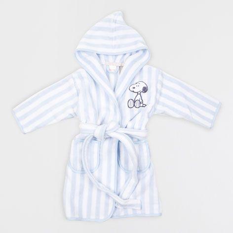 Купальный халат Kids Snoopy Rayas - банные халаты и коврики для ванной - Ванная комната | Zara Home Российская Федерация