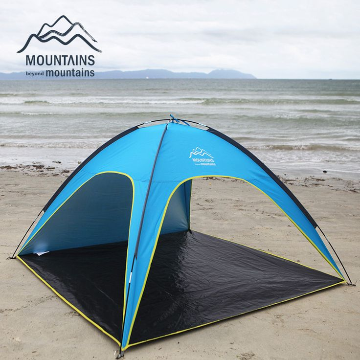 Camping Breakfast 4 People Beach Tent Ultralight Sun Shelter Large Outdoor Folding Awning