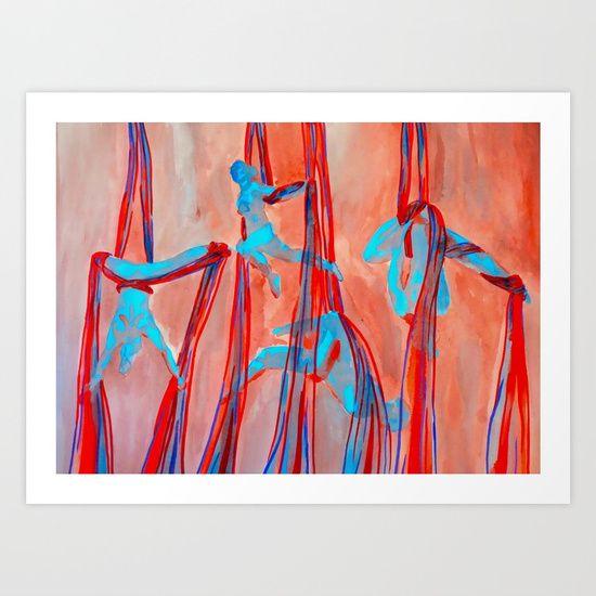 Aerial Quartet Art Print