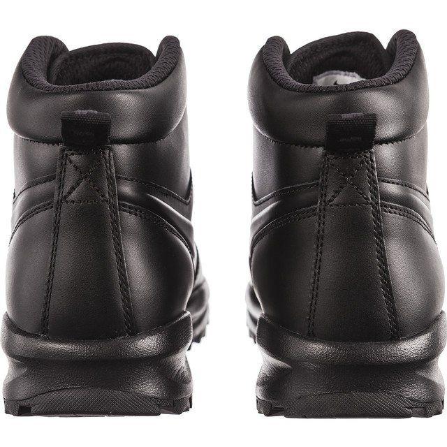 Trekkingowe Meskie Nike Czarne Nike Manoa Leather 003 Black Nikes Bean Boots Boots
