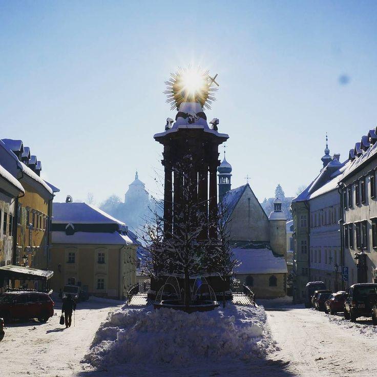 SchemnitzStar  #banskastiavnica #stiavnica #schemnitz #winter