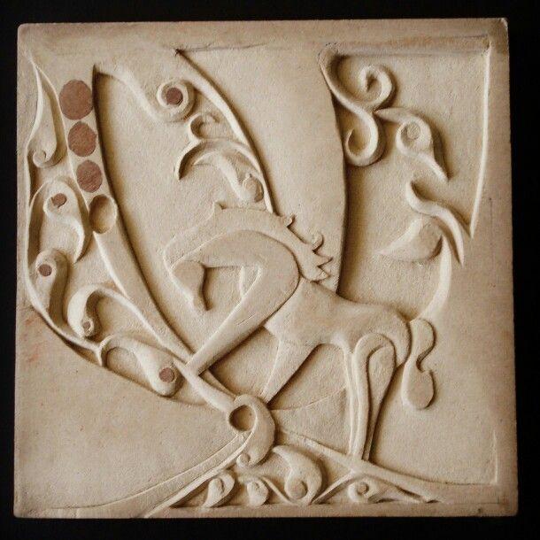 Wood carving 30*30 By:Aya Fayez