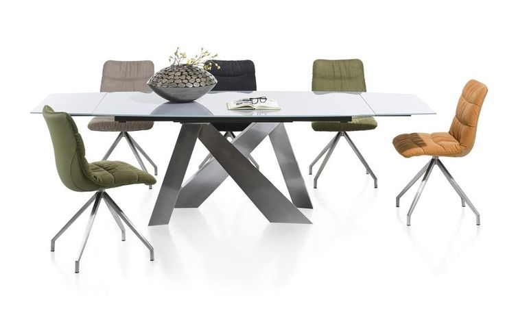 Giorgio dining tables and Dean chairs