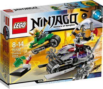 Lego Ninjago - Atak Overborga od 67,99 zł. WIĘCEJ: http://www.idealo.pl/ceny/4089980/lego-ninjago-atak-overborga-70722.html