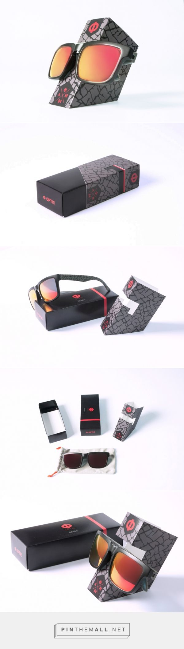 Fashion - #Custom #sunglasses clever #packaging #design: a #box that turns into a #eyeglasses #holder