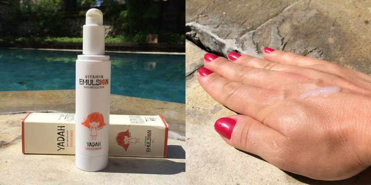 Yadah Vitamin Emulsion. Check out the review.