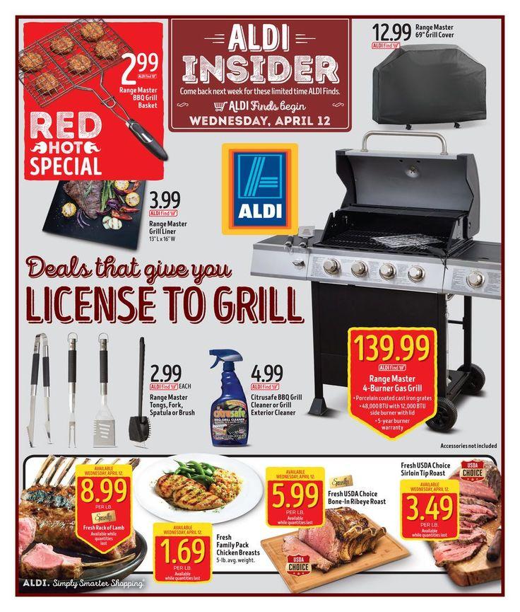 ALDI USA In Store Ad Circular 4/12 - 4/18 United States #grocery #Aldi