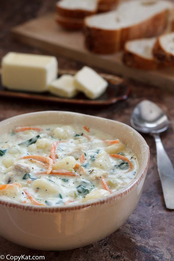 Olive Garden Chicken Gnocchi soup is a delicious soup you can make at home, it is very easy to do. I will show you how to make this recipe.