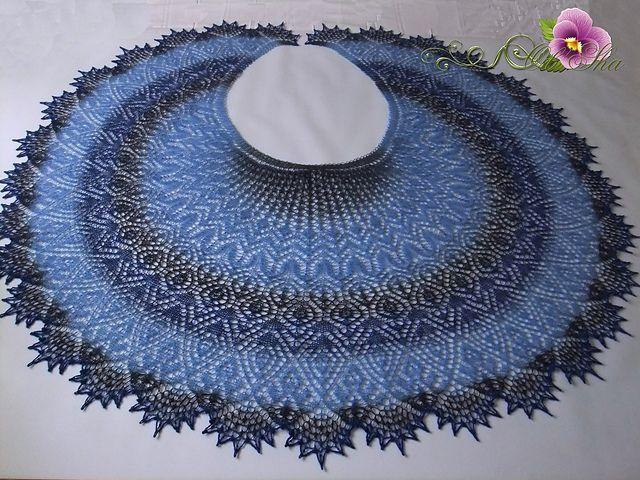 Ravelry: Shawl Syuyumbike pattern by Olga Bochkareva