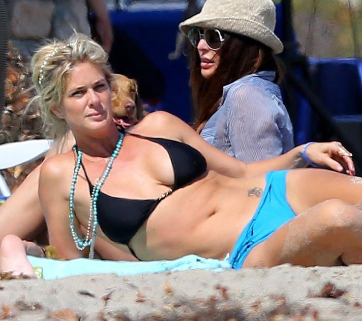Rachel Hunter In A Bikini In Malibu - 7/7/2013