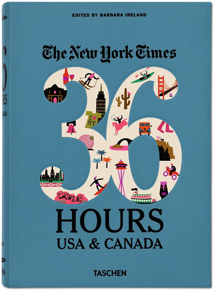 """New York Times: 36 Hours USA & Canada"" ($26): A guide to 150 different weekend getaway itineraries, from the popular New York Times Travel series."