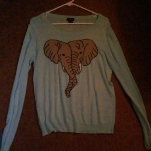 two elephants sweater cute and comfy ALONG WITH EVERYTHING ELSE, NEGOTIABLE PRICE AND TRADE WELCOME. Rue 21 Sweaters