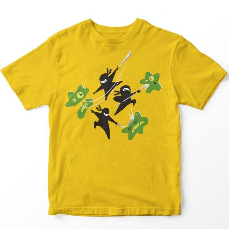Fundraiser - Ninjas Vs. Leukemia Kids T-Shirt