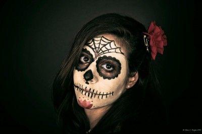 halloween make-up tutorial dia de los muertos
