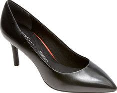 Rockport Total Motion 75mm Pointy Pump - Black Lizard Emboss with FREE Shipping & Exchanges. Pointy toes are on trend with our Total Motion 75MM pointy heels. If you