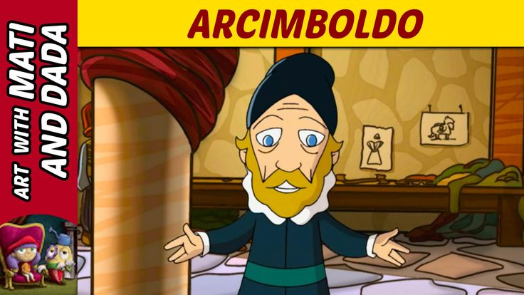 Art with Mati and Dada - Arcimboldo | Kids Animated Short Stories in Eng...