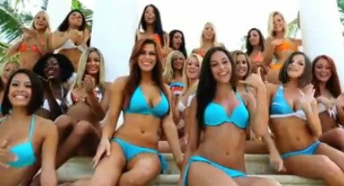 GO VIRAL: Barack Obama and the Miami Dolphins Cheerleaders Take on ...