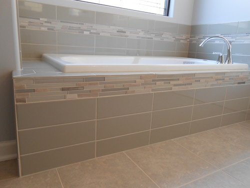 Dreamscape Homes Master Bathroom Jacuzzi Glass And Stone Tile By Mckean S Masterbath