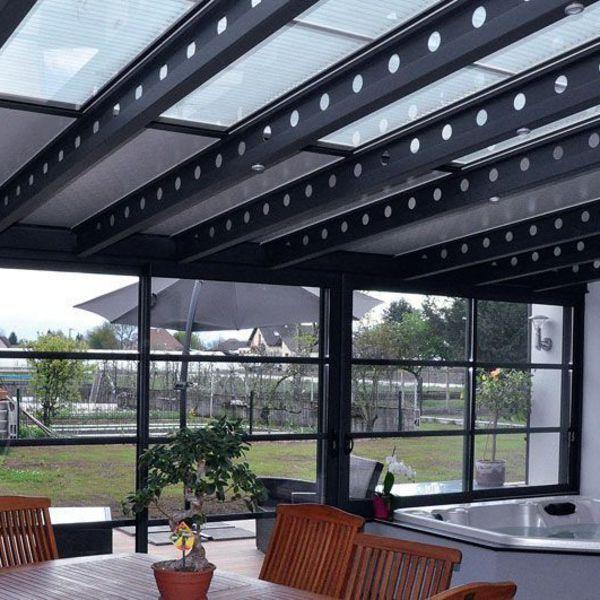 34 best v randa aluminium images on pinterest arbors - Pergola arrondie ...
