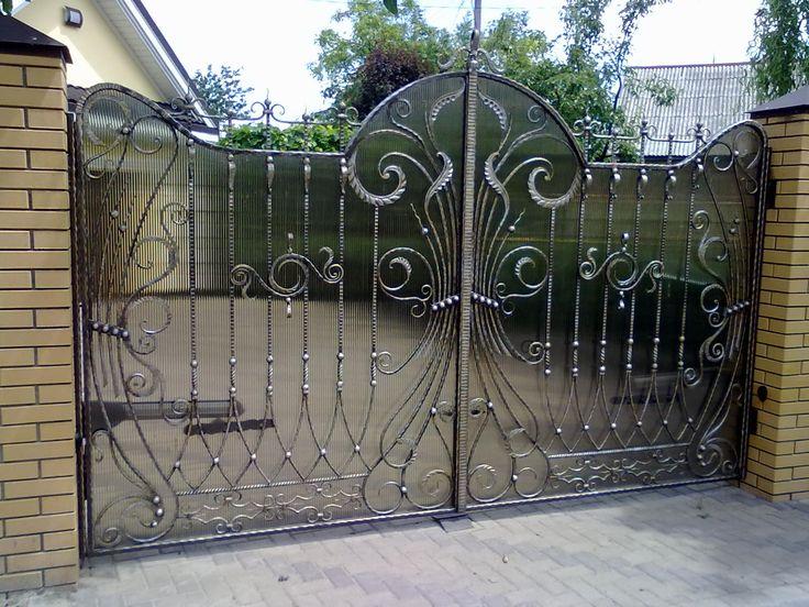 кованые ворота   Кованые ворота, калитки, заборы ...