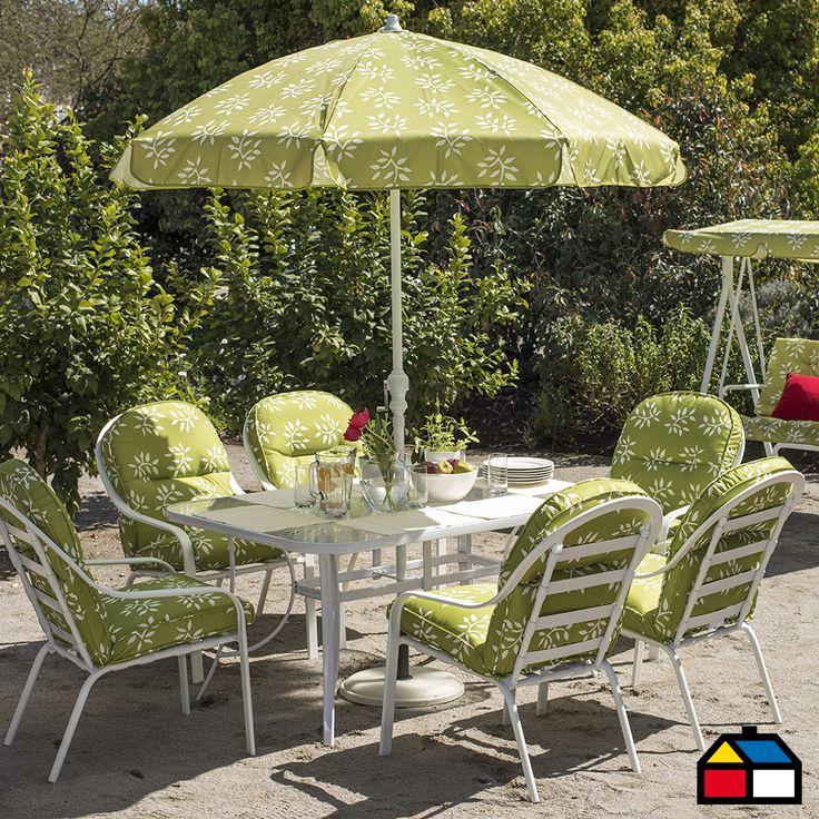 Terraza primavera airelibre sodimac flores terrazas for Sodimac terrazas chile