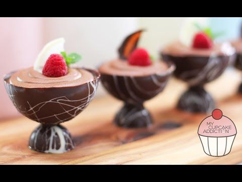 Chocolate Mousse Recipe - 2 Ingredients and OH SO EASY! | My Cupcake Add...