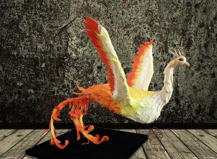 Birthday Cakes Phoenix ~ Best mythological creature phoenix images cake