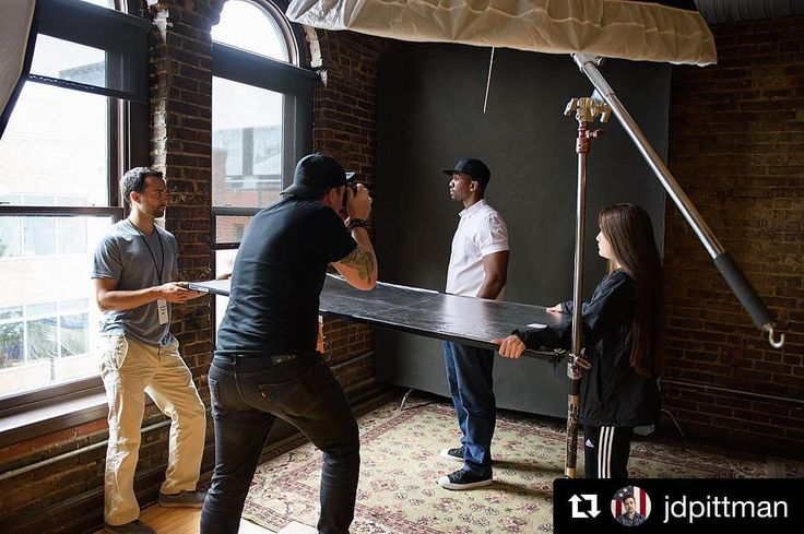 Behind the scenes by @jdpittman : The team working with @bigpiph at @arkriverfest earlier this month. #BTS  @heath_herring