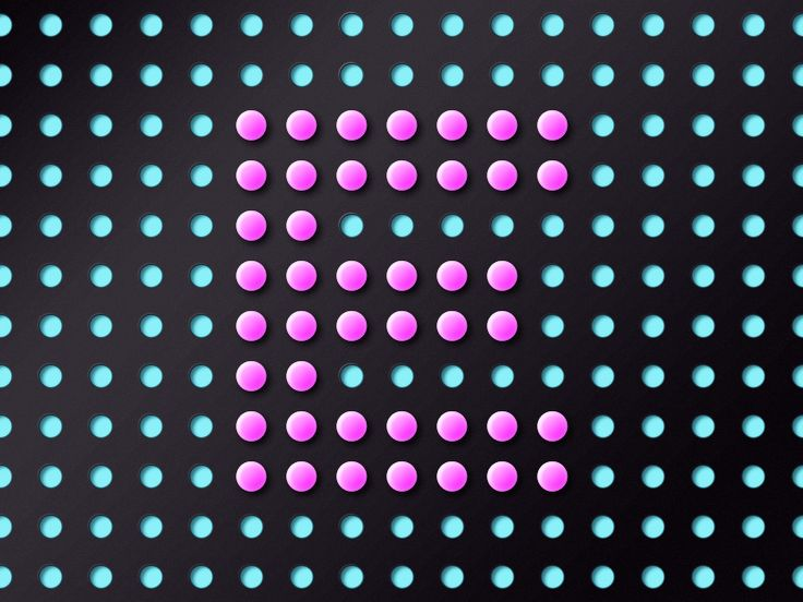 A1–Z26 / E5 #graphic #design #typography #dots #grid