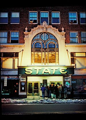 State Theatre is located on Congress Street in Portland, Maine and has an amazing history. In the last few years the State has reemerged as a hotspot for big name bands.