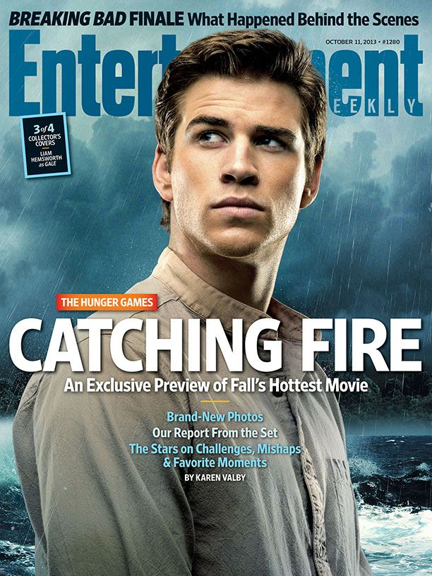 The Hunger Games: Catching Fire | Portada Entertainment Weekly