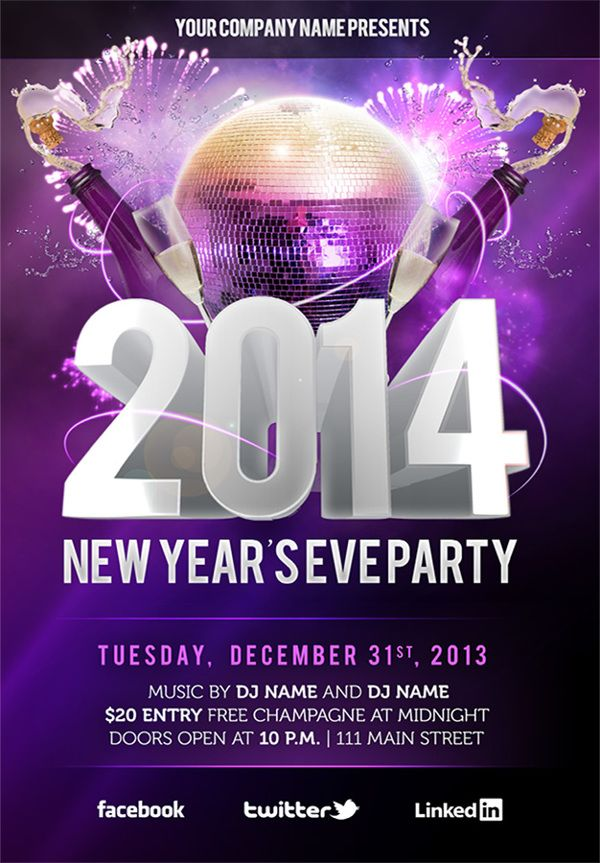 Best Club Poster Images On   Club Poster Flyers And