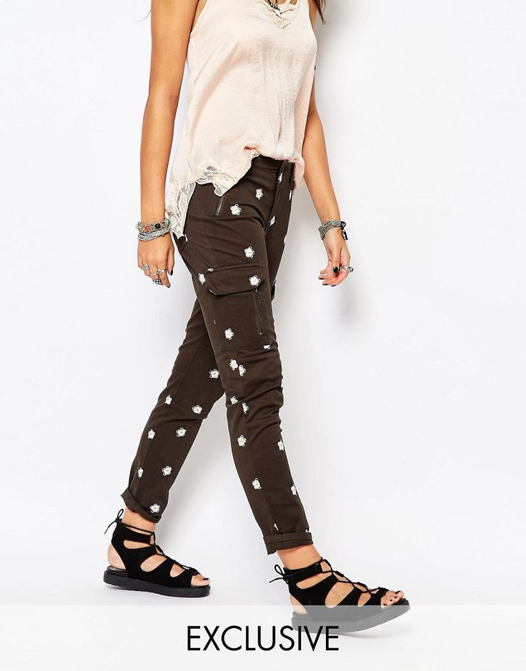 Native Rose Daisy Trousers