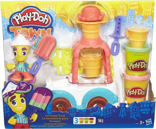 Play-Doh Town IJswagen - Klei