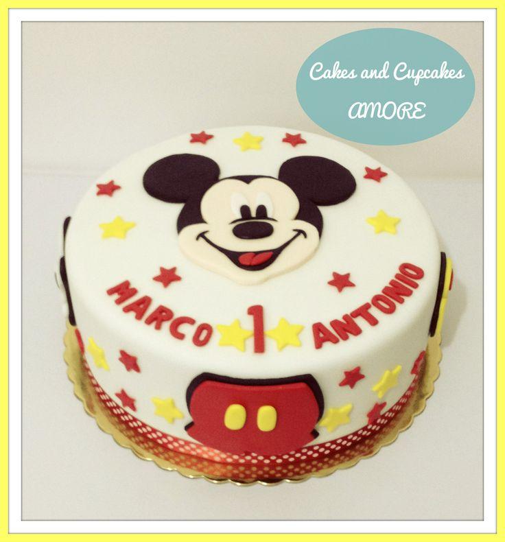 Torta mickey 2d