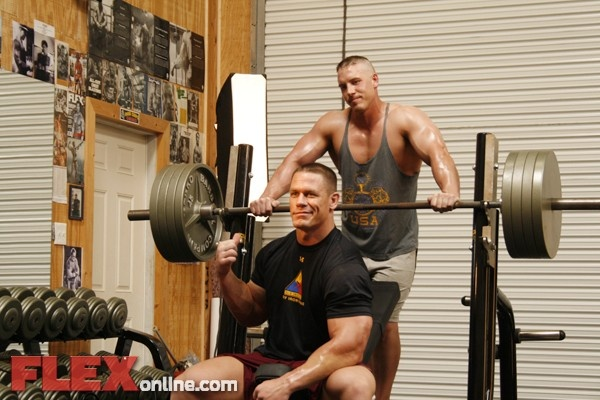John cena weight training pinterest - John cena gym image ...