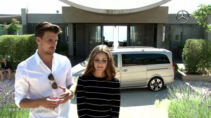 The Olivia Palermo Lookbook : Olivia Palermo and Johannes Huebl for Mercedes Benz Viano
