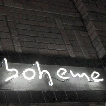 Boheme Cafe & Wine Bar - Houston Date Night - Montrose Lunch Venue