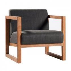 Ethnicraft Teak Square Root Chair | Clickon Furniture | Designer Modern Classic Furniture