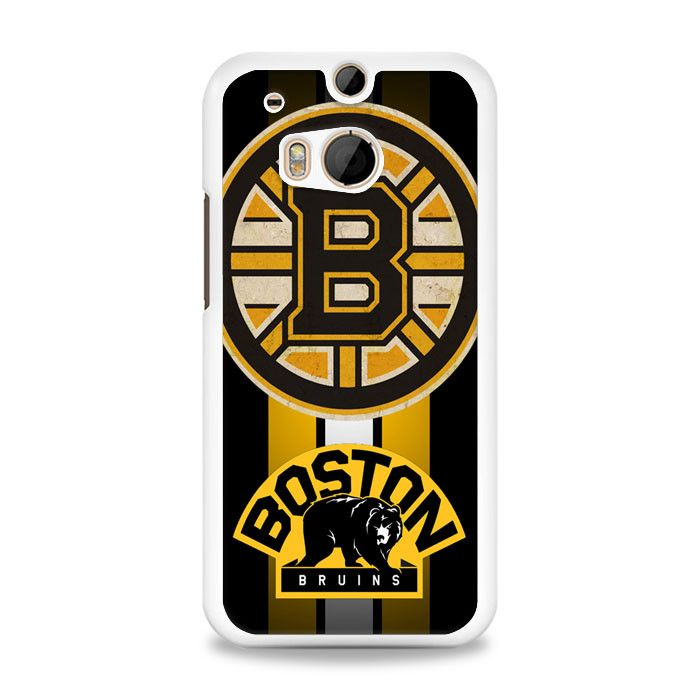 Boston Bruins Hockey design HTC One M8 Case | yukitacase.com